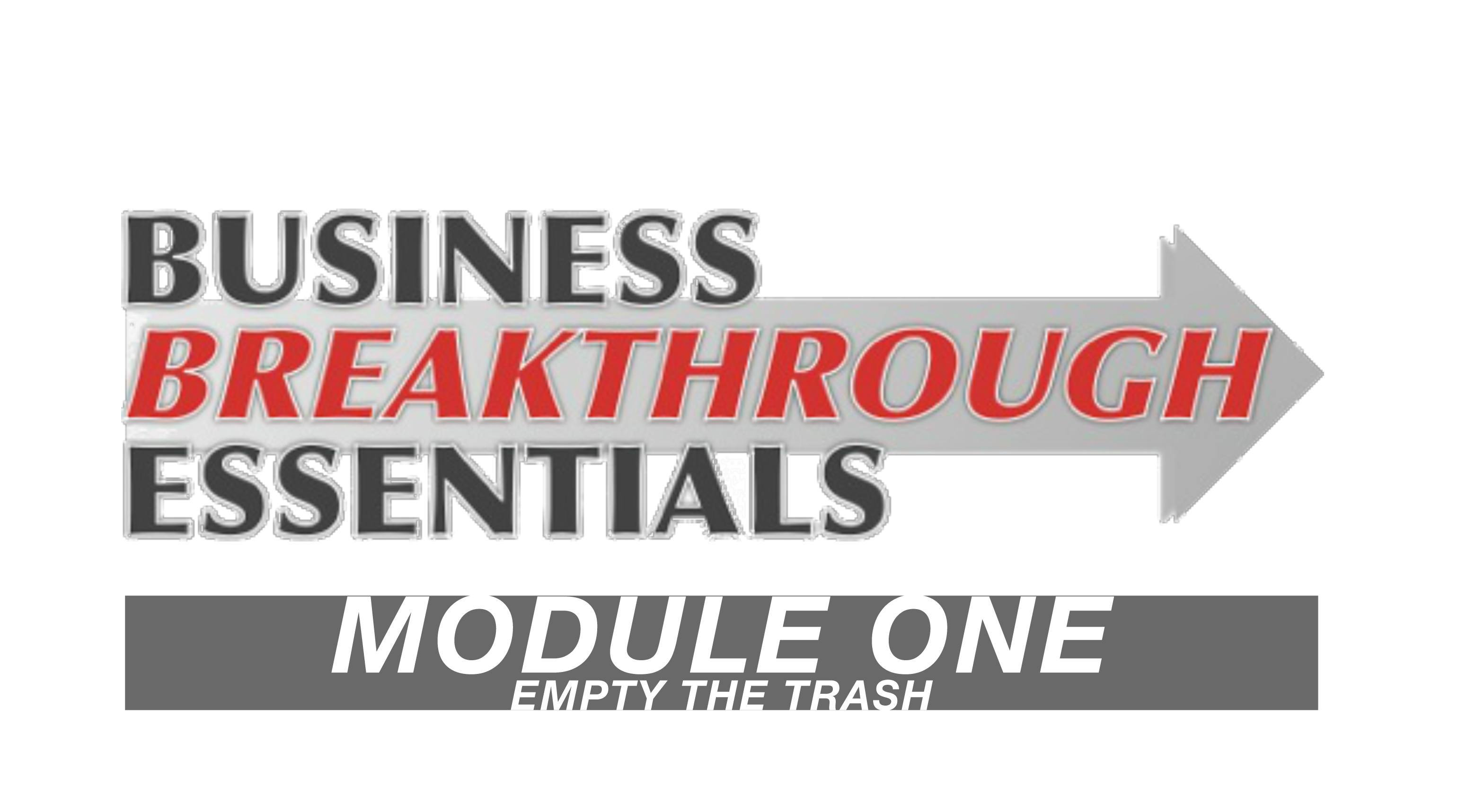 business breakthrough essentials